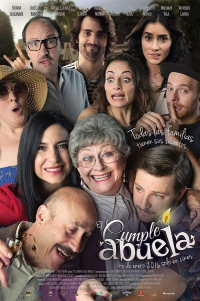 Caratula, cartel, poster o portada de El cumple de la abuela