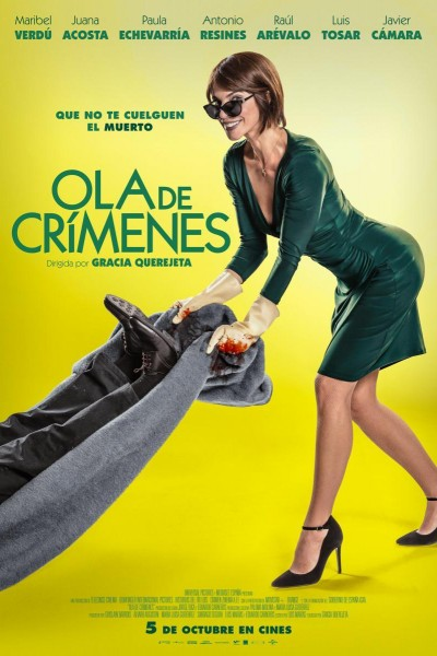 Caratula, cartel, poster o portada de Ola de crímenes