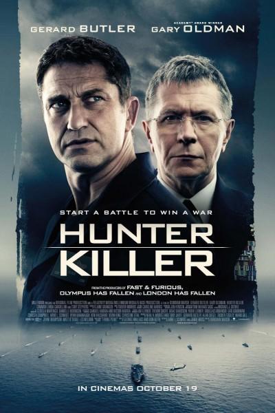Caratula, cartel, poster o portada de Hunter Killer. Caza en las profundidades