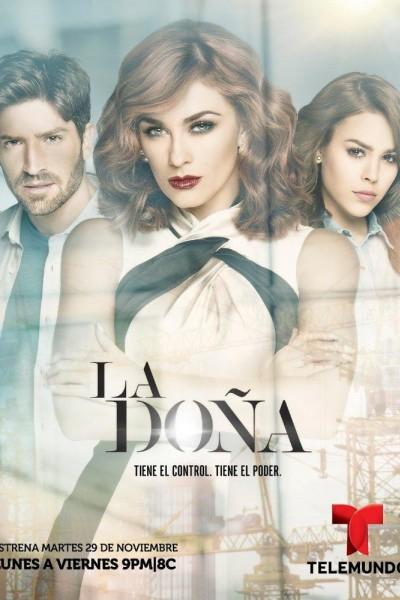 Caratula, cartel, poster o portada de La Doña