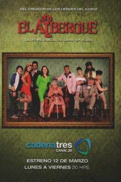 Caratula, cartel, poster o portada de El albergue