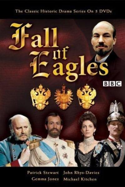 Caratula, cartel, poster o portada de La caída de las águilas