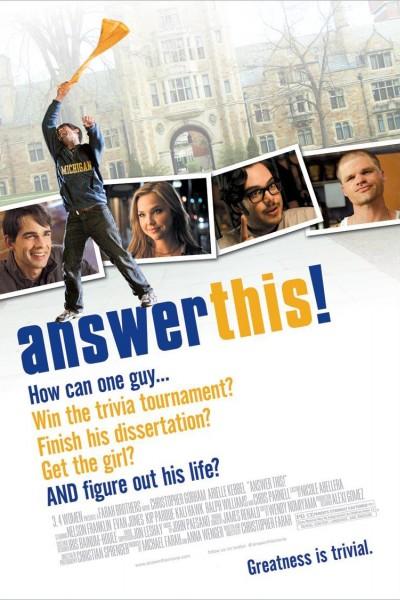 Caratula, cartel, poster o portada de Answer This!