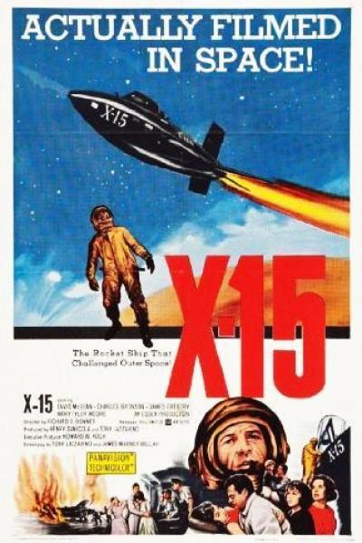 Caratula, cartel, poster o portada de X-15