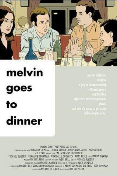 Caratula, cartel, poster o portada de Melvin Goes to Dinner