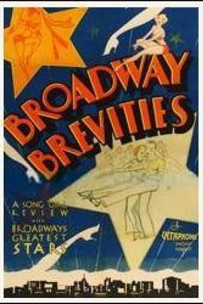 Caratula, cartel, poster o portada de Broadway Brevities