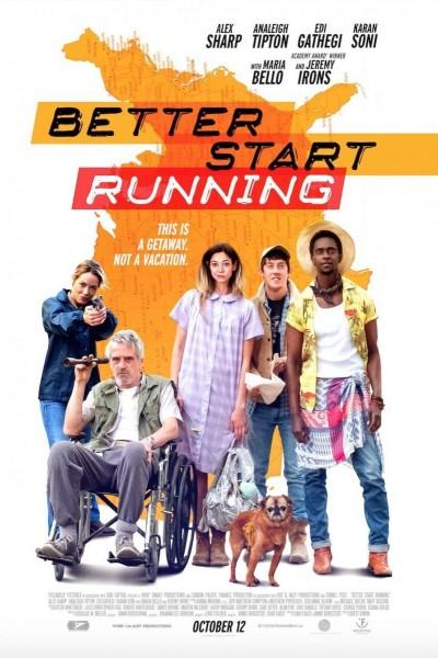 Caratula, cartel, poster o portada de Better Start Running