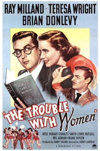 Caratula, cartel, poster o portada de The Trouble with Women