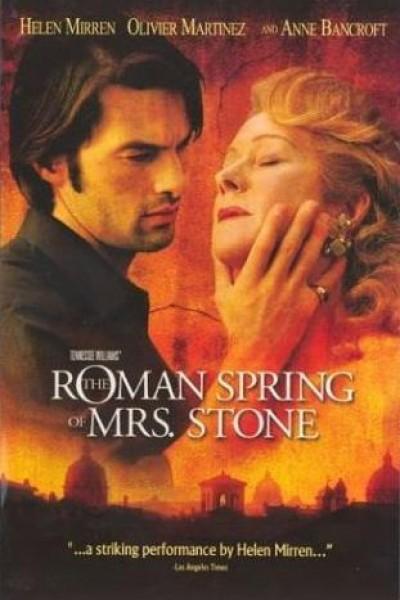 Caratula, cartel, poster o portada de La primavera romana de la Sra. Stone