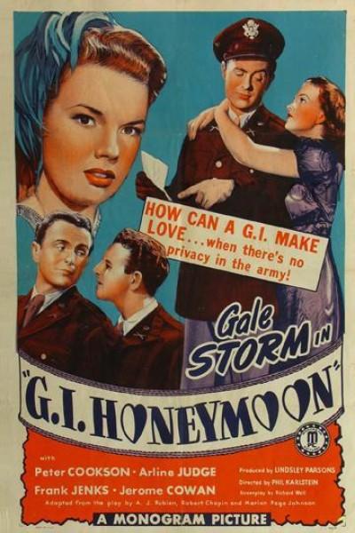 Caratula, cartel, poster o portada de G.I. Honeymoon
