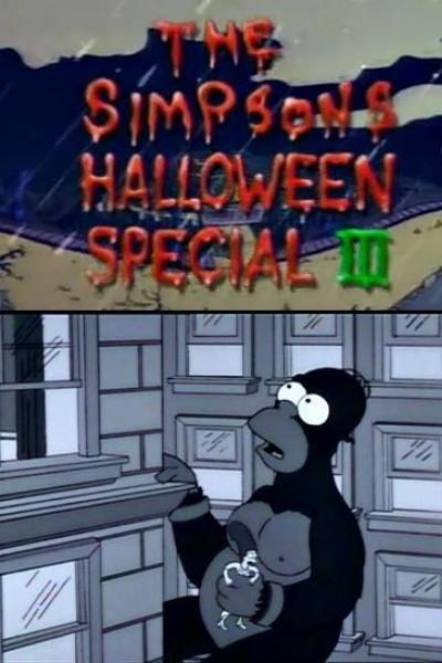 Caratula, cartel, poster o portada de Los Simpson: La casa-árbol del terror III