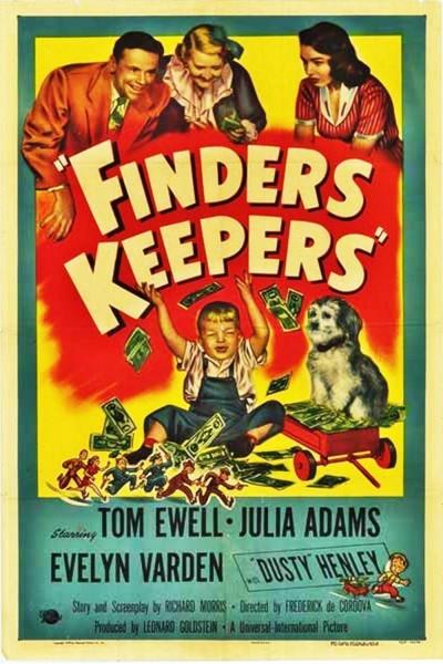 Caratula, cartel, poster o portada de Finders Keepers