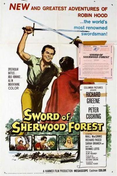 Caratula, cartel, poster o portada de La espada del bosque de Sherwood