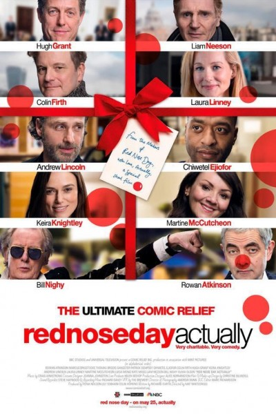 Caratula, cartel, poster o portada de Red Nose Day Actually