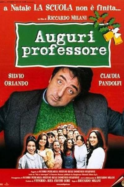 Caratula, cartel, poster o portada de Auguri professore