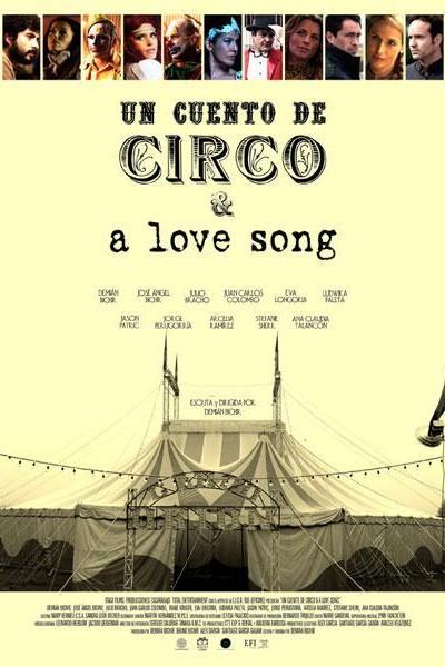 Caratula, cartel, poster o portada de Un cuento de circo & a Love Song
