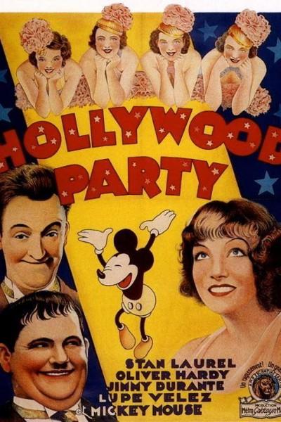 Caratula, cartel, poster o portada de Una fiesta en Hollywood