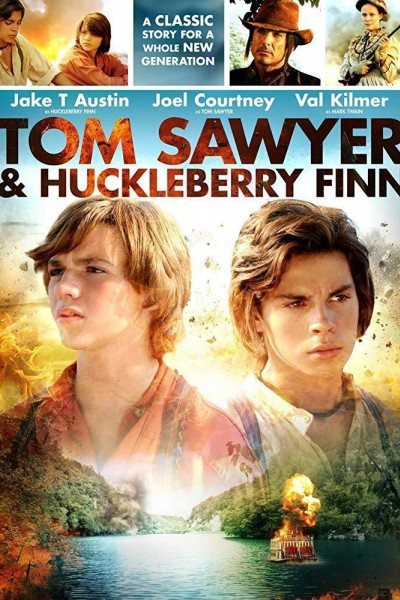 Caratula, cartel, poster o portada de Tom Sawyer & Huckleberry Finn