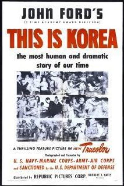 Caratula, cartel, poster o portada de Esto es Corea