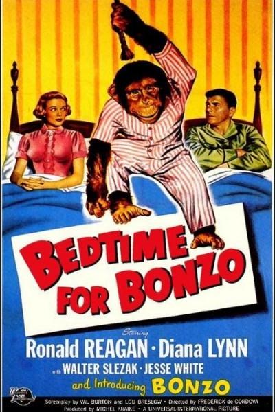 Caratula, cartel, poster o portada de Bedtime for Bonzo