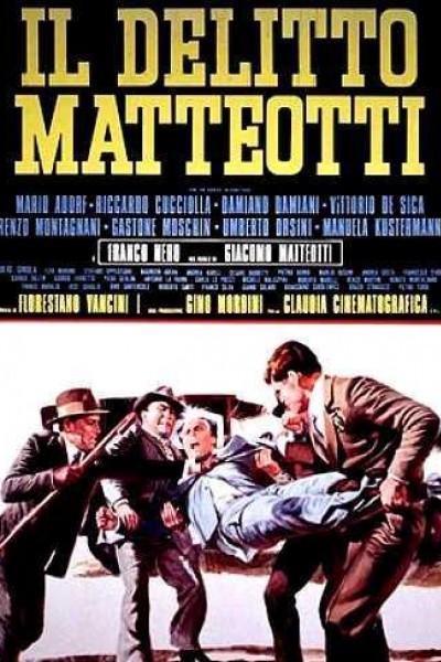 Caratula, cartel, poster o portada de El caso Matteotti