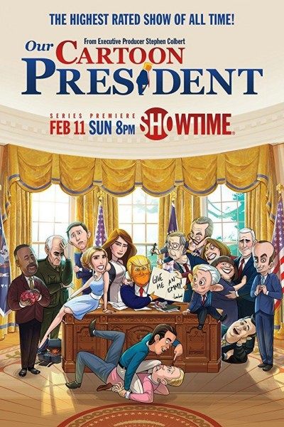 Caratula, cartel, poster o portada de Animado Presidente