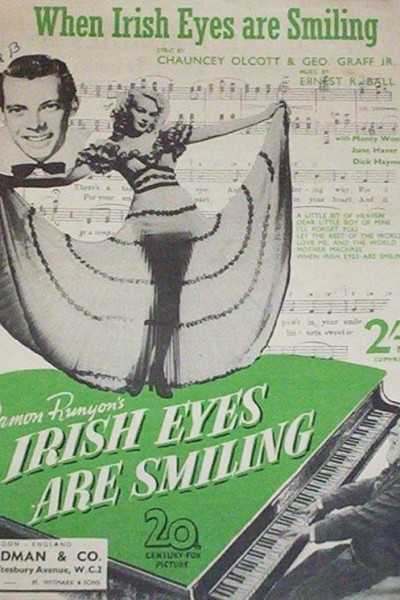 Caratula, cartel, poster o portada de Irish Eyes Are Smiling