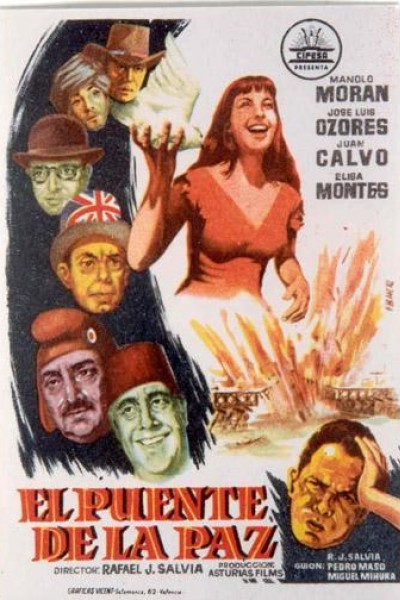 Caratula, cartel, poster o portada de El puente de la paz