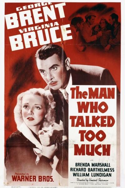 Caratula, cartel, poster o portada de The Man Who Talked Too Much
