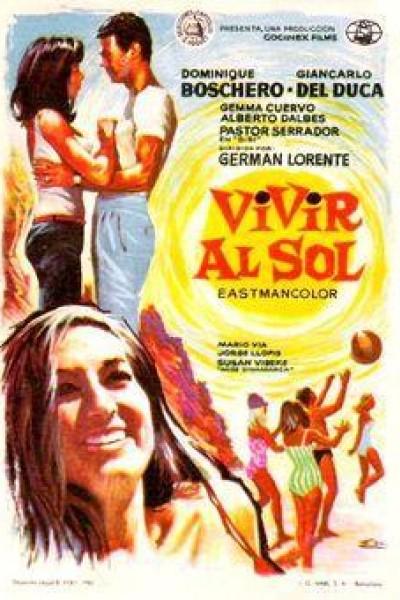 Caratula, cartel, poster o portada de Vivir al sol