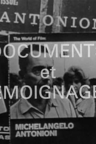 Caratula, cartel, poster o portada de Antonioni: Documents and Testimonials