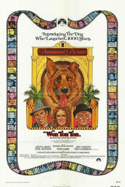 Caratula, cartel, poster o portada de Won Ton Ton, el perro que salvó a Hollywood