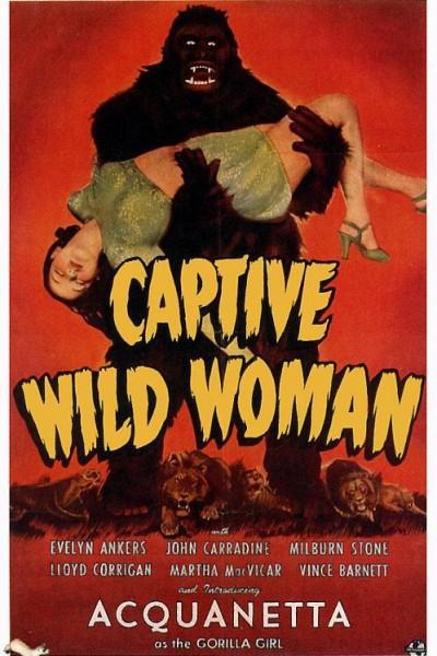 Caratula, cartel, poster o portada de Captive Wild Woman