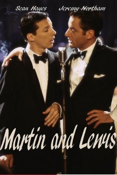 Caratula, cartel, poster o portada de Martin y Lewis