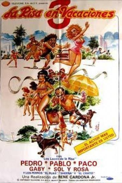 Caratula, cartel, poster o portada de La risa en vacaciones 3
