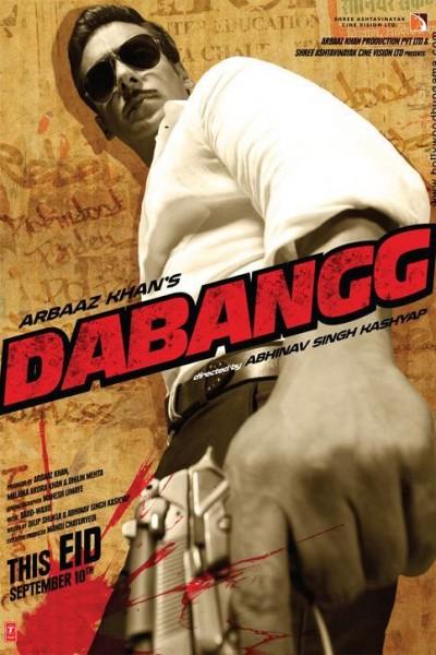 Caratula, cartel, poster o portada de Dabangg (Sin miedo)