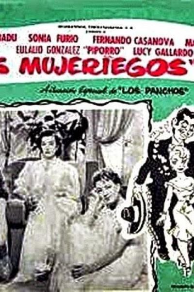 Caratula, cartel, poster o portada de Los mujeriegos (Tres desgraciados con suerte)
