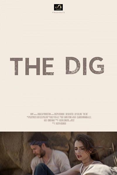 Caratula, cartel, poster o portada de The Dig