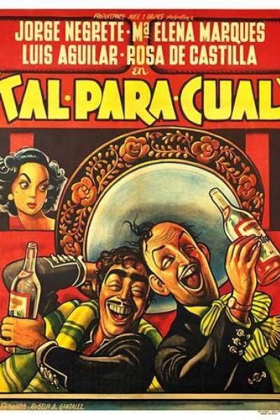 Caratula, cartel, poster o portada de Tal para cual
