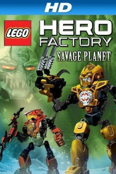 Caratula, cartel, poster o portada de LEGO Hero Factory: Savage Planet