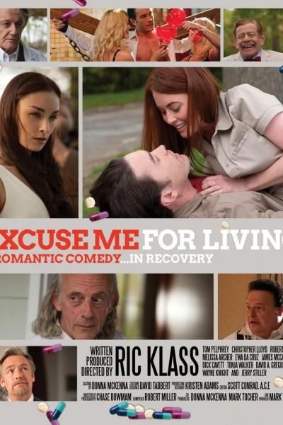 Caratula, cartel, poster o portada de Excuse Me for Living