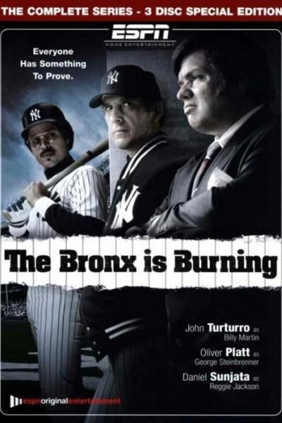 Caratula, cartel, poster o portada de The Bronx Is Burning