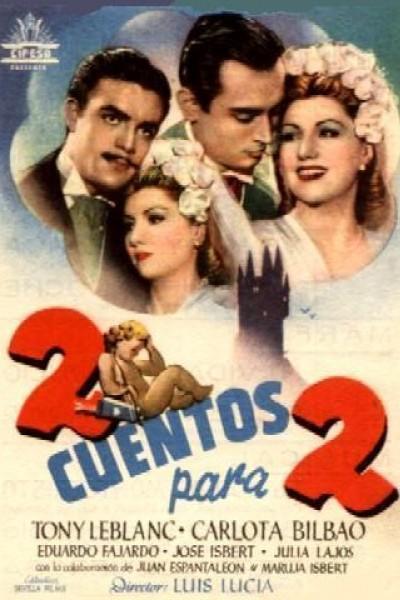 Caratula, cartel, poster o portada de Dos cuentos para dos