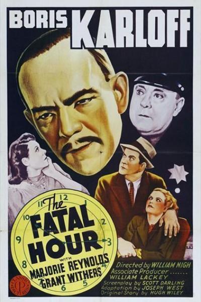 Caratula, cartel, poster o portada de La hora fatal (Mr. Wong en el cuartel)