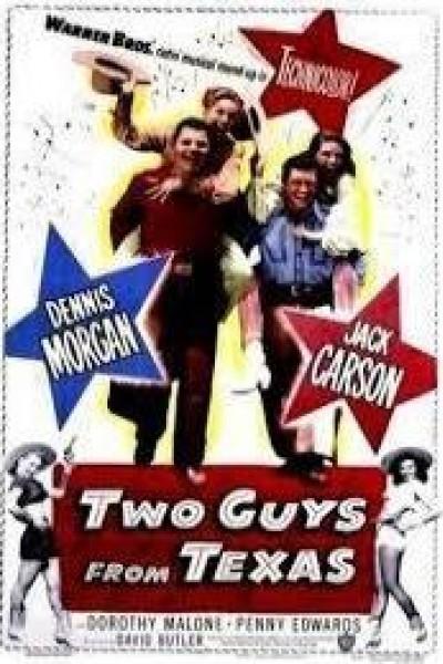 Caratula, cartel, poster o portada de Two Guys from Texas