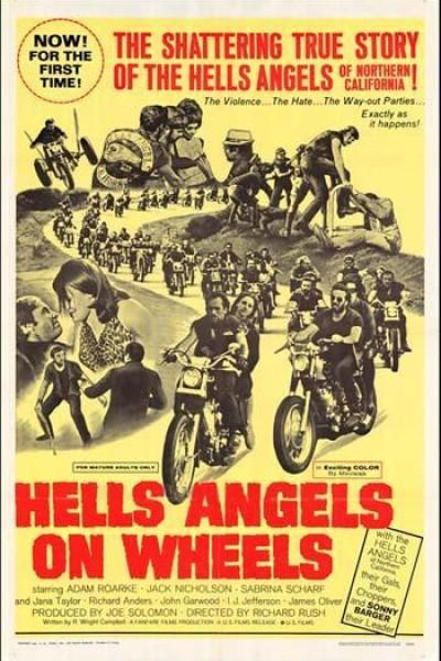 Caratula, cartel, poster o portada de Ángeles del infierno sobre ruedas