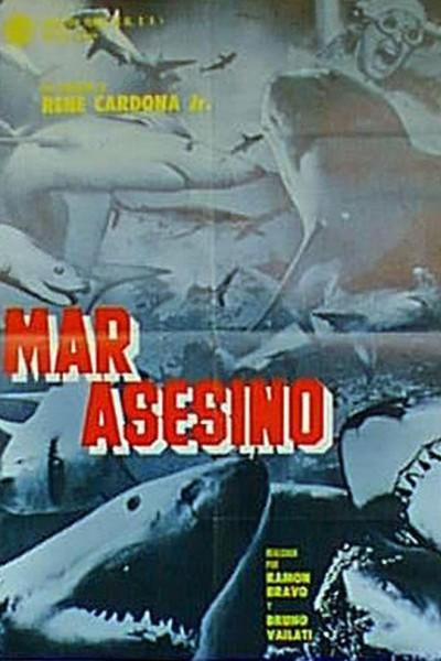 Caratula, cartel, poster o portada de Mar asesino