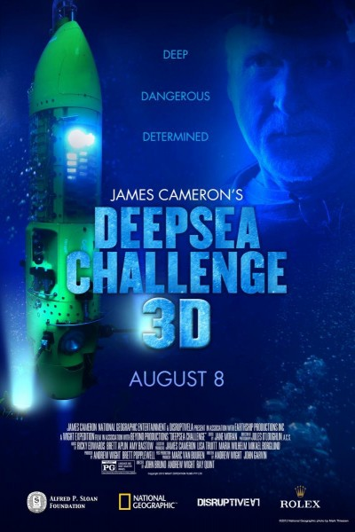 Caratula, cartel, poster o portada de Desafío en las profundidades (James Cameron)