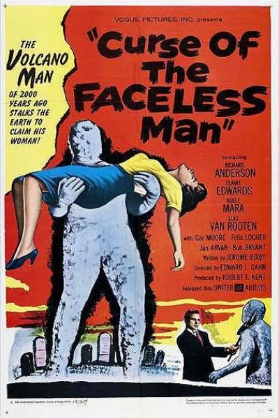 Caratula, cartel, poster o portada de La maldición del hombre sin cara