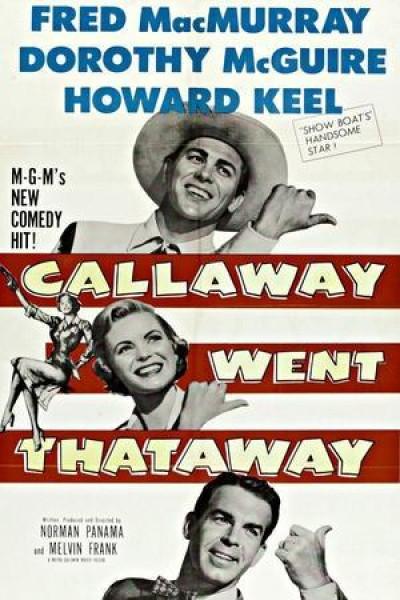 Caratula, cartel, poster o portada de Callaway Went Thataway